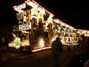 Bridgwater Carnival Road Train