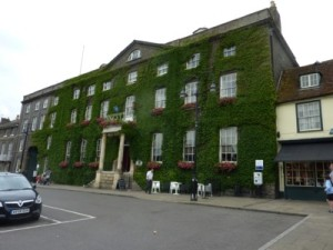 Angel Hotel in Bury St Edmunds