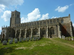 Holy Trinity at Blythburgh in Suffolk