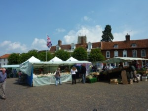 Market day at Framlingham