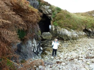 Coosemore Caves at Bird Point near Ardgroom on the Beara